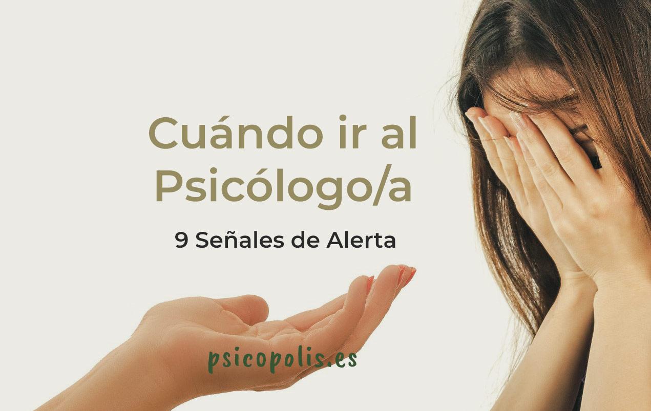 Razones para ir al psicólogo / psicóloga